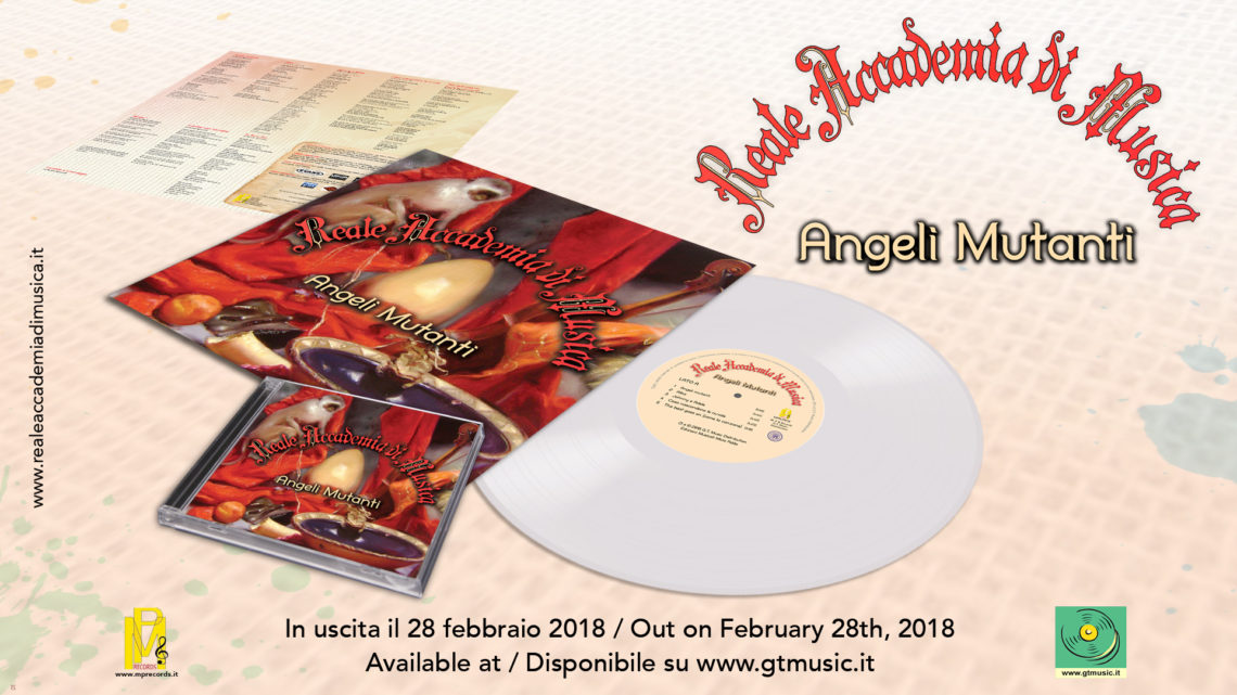 REALE ACCADEMIA DI MUSICA – Nuovo album in CD & LP dal 28 febbraio